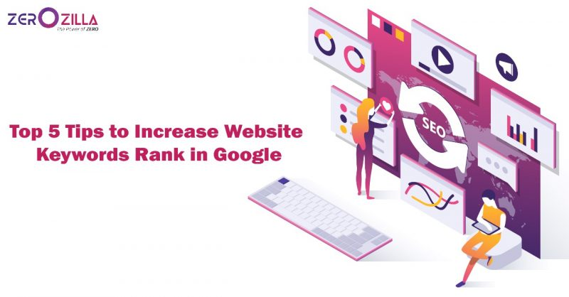 Top 5 Tips to Increase Website Keywords Rank in Google